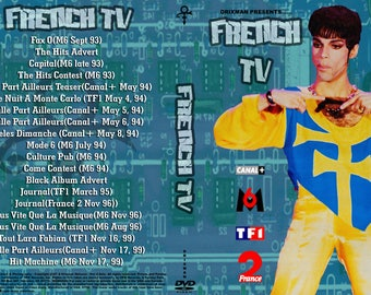 Prince French DVD Ex Quality!