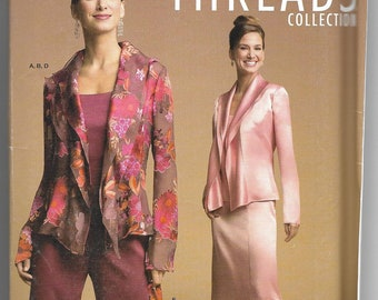 Simplicity   4685   Misses' / Miss Petite Camisole, Jacket, Skirt, Pants and Purse   Uncut and Factory Folded