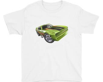 Car Youth Short Sleeve T-Shirt