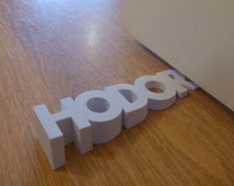 Hodor Door Stopper, Game of Thrones Gift, GOT, Hold the Door Stop, Asofai, George R R Martin, Hodor Doorstop, Hodor