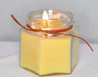 Beeswax aromatherapy essential oil scented candles.