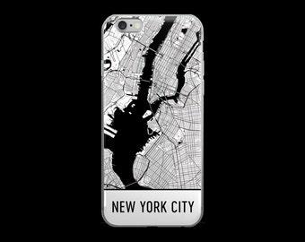 New York iPhone Case, New York City Phone Case, iPhone New York, New York City Phone Case, NYC iPhone 6 Case, Art, Gift