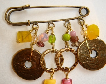 PIN charms Antique ref: BRO1