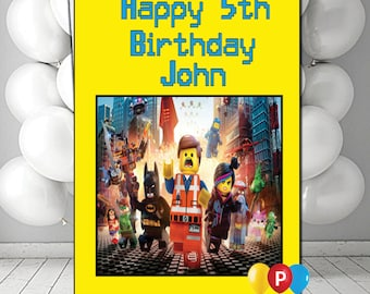 Lego birthday card etsy personalised lego birthday card bookmarktalkfo Image collections