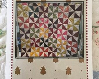 Scrappy Pinwheel Quilt Pattern