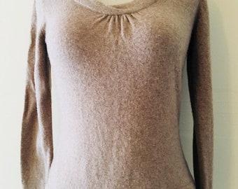 Banana Republic luxury cashmere blend sweater small