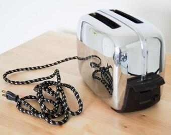 Grille-pain Vintage Toastmaster #1B14 fonctionnel travail • au milieu du siècle moderne • • Chrome • pop-up rétro 1940s 1950s • atomique cuisine Antique