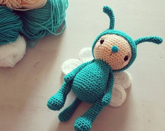 Amigurumi Dragonfly - PDF pattern English