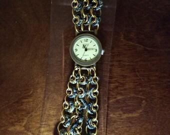 Chain mail watch
