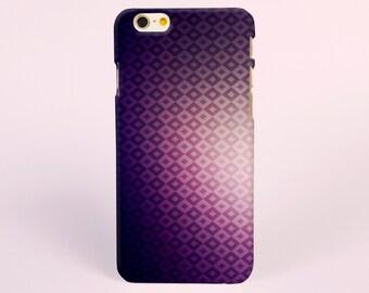 iPhone 8 case, iPhone X case, iPhone 7 plus case, iPhone 6s case tough case samsung galaxy s8 case, samsung galaxy case Purple Geometric