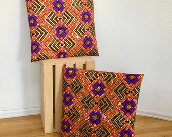 African Wax Pillow Cover Decorative Pillow Cover Throw Pillow Cover
