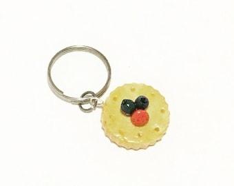 Fruit Tart Cookie Key Charm