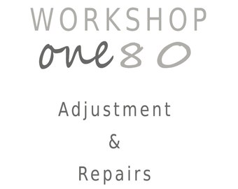 Repair and Adjustment Service