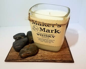 Maker's Mark Bourbon Whiskey Soy Candle