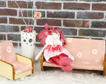 "Handmade doll - ""Margot"", Poupée création originale, faite main"