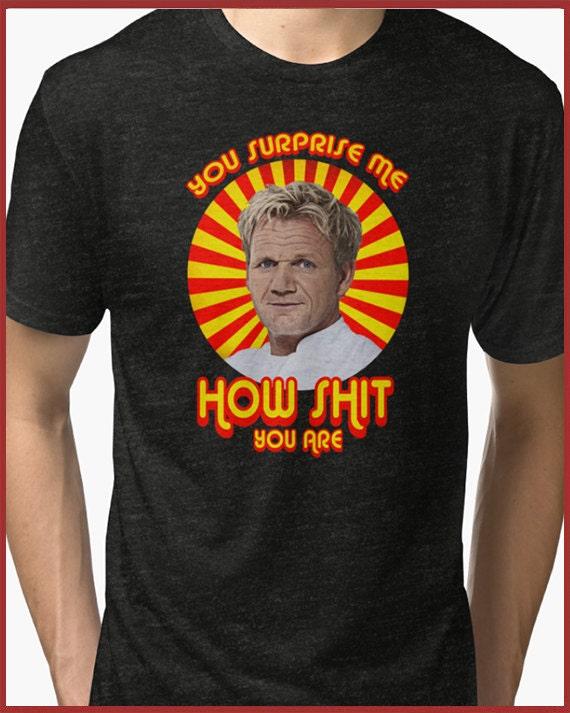 Gordon Ramsay Tri-blend T-Shirt mHjWgLBALk