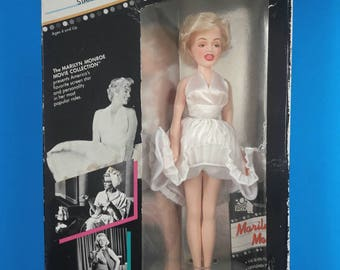 Vintage Collectible Marilyn Monroe The Seven Year Itch Doll, Marilyn Monroe Doll In Original Box, Tristar Collectible Doll, Never Used.