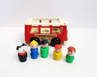 Fisher Price Play Family Mini Bus Or Mini Van #141 (1970-1990)