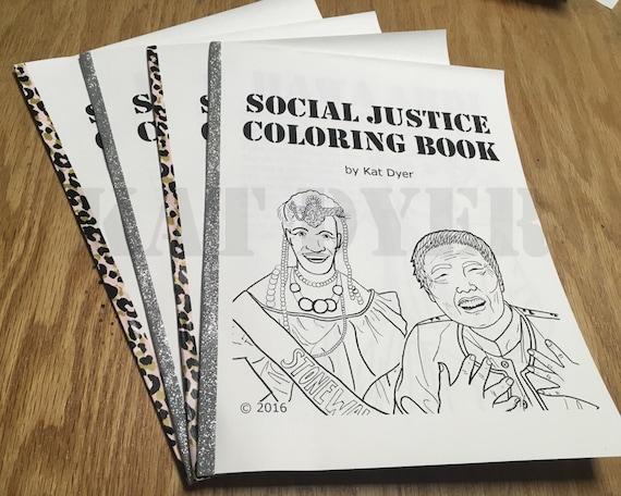 Artículos similares a Justicia social para colorear libro volumen 1 ...