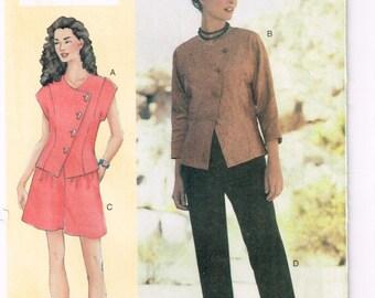 Vogue 7281 - Sandra Betzina (today's fit sizing)  - Jacket, pants, shorts  - Size  A B C