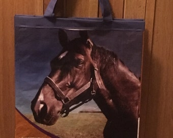Dark horse reusable shopping bag