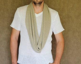 100% Linen knitted Tshirt with V neck for Men! Handmade High-quality, Summer, natural linen, men's tshirt, v-neck, stylish man gift