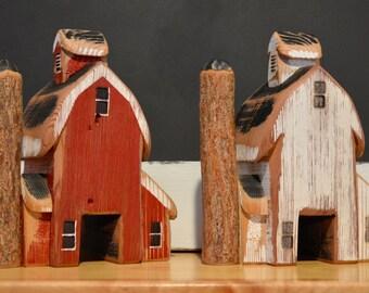 Handmade Wooden Barn