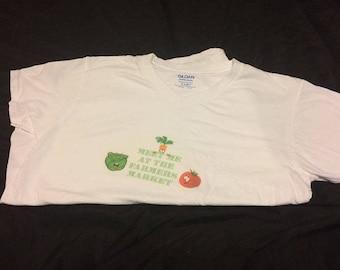 Meet me at the Farmers Market T-shirt (Medium)
