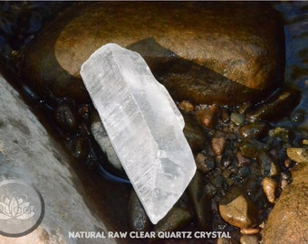 Natural Raw Clear Quartz Crystal (Reiki Charged)