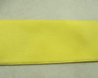 Ribbon - 5 cm - yellow Velvet
