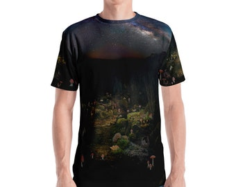 Cosmic Fungi Forest T-shirt