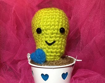 Cute Crochet Cactus Plant