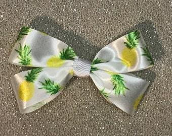 Pineapple Hair Bow