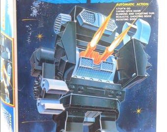 "SUPER GIANT  ROBOT Japanese Horikawa Rotate o Matic 16""/ 40cm Battery Operated"