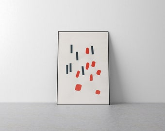 Dot & Dash Limited Edition Minimal Screen Print