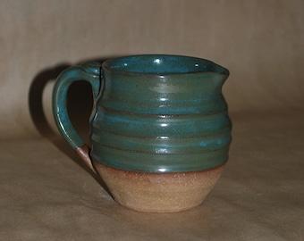 Bluegreen Ceramic Pitcher