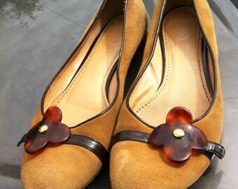 Authentic Louis Vuitton Suede Flats Size 9