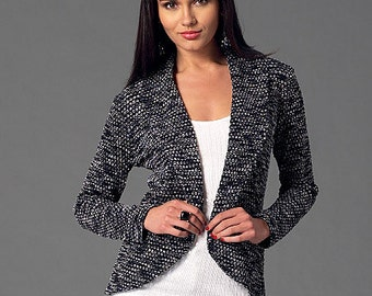 McCall's Pattern M7254 Misses' Cardigans