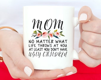 Gift From Daughter, Mom Birthday Gift, From Daughter, Gift For Mom, Coffee Mug, Mom Mug, Gift-For-Her, Mom From Daughter, Funny Mom Mug, Mug