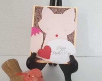 Foxy Happy Mother's Day Card