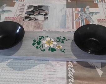Full-service limed wood Board