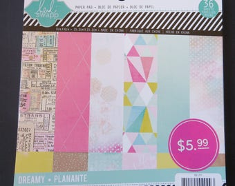 """American Crafts Heidi Swapp Paper Pad - 6""""x 6"""" - 36 papers"""