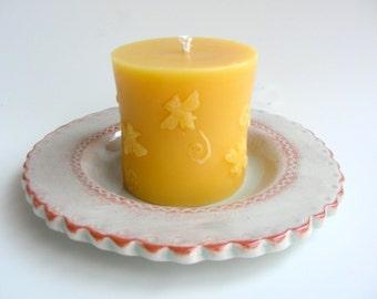 Honigbiene Pillar Candle