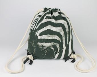 Sports Bag Zebra