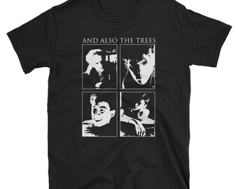 And Also The Trees Shirt, Skeletal Family, Sad Lovers & Giants, Sisters of Mercy, The Mission UK, Post Punk, Goth