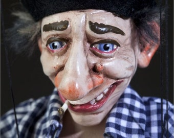 Lazy Franta Czech Marionette Puppet