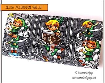 Zelda Necessary Clutch Wallet - Zelda NCW - Handmade Clutch - Zelda Wallet - Handmade Link Wallet - Handmade NCW - Custom Made Wallet
