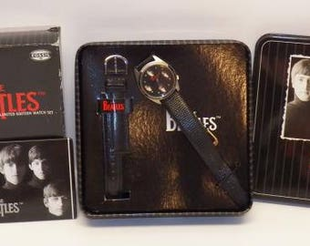 1996 The Beatles Fossil Collector Series Limited Edition Watch