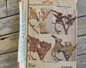 Vintage McCall's Sewing Pattern 5830