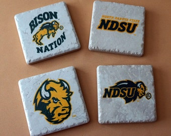 Coasters - NDSU - Bison - North Dakota State University - Bison Nation